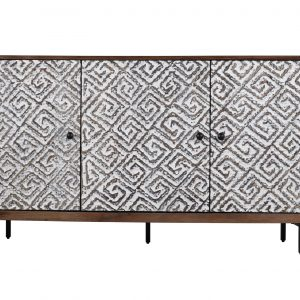 Athena 2 300x300 - Athena 3 Door Sideboard - French Grey