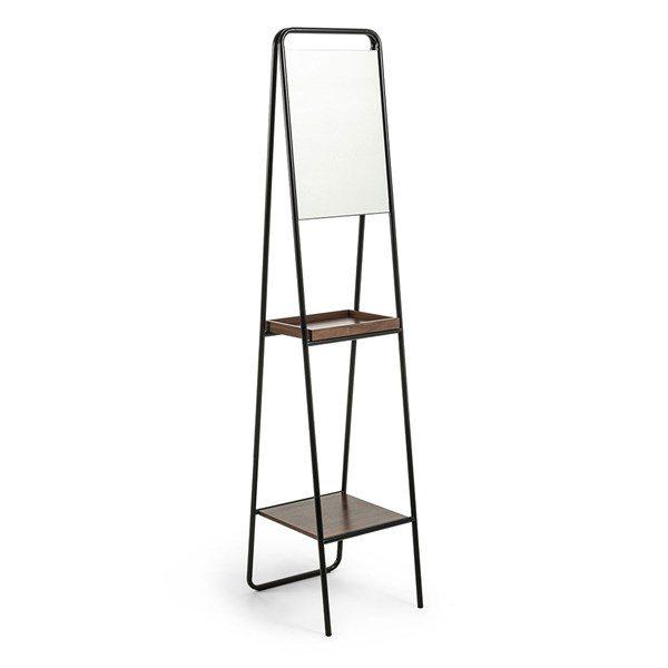 Benji Standing Mirror from La Forma 600x600 - Benji Mirror & Shelf