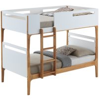Hayes - Hayes Bunk Bed - White
