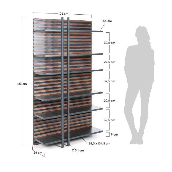 MH003L02 8 600x600 - Mahon Bookshelf