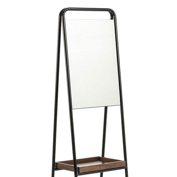 Mirror Detail to Benji Full Length Mirror 1 600x600 - Benji Mirror & Shelf