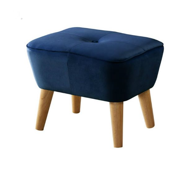 Otis Royal Blue 600x600 - Otis Ottoman - Royal Blue