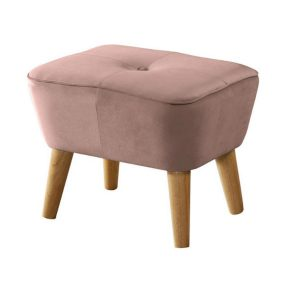 Otis dusty pink 300x300 - Otis Ottoman - Dusty Pink