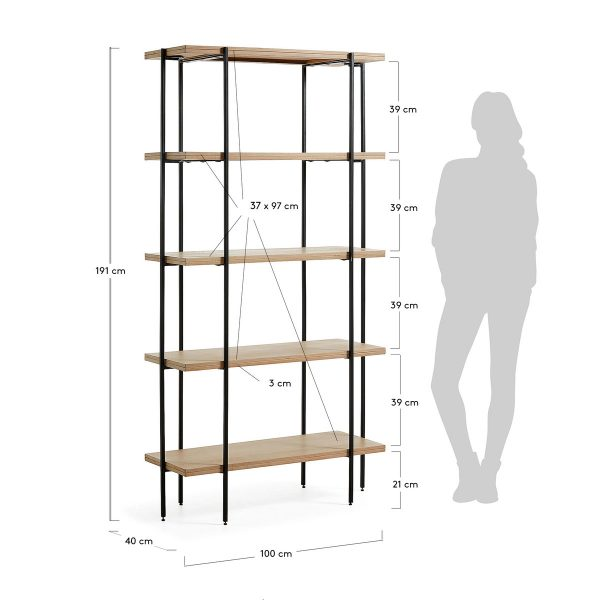 PAL006M46 8 600x600 - Palmia Bookshelf