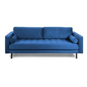 S547JU25 1 300x300 - Bogart 2 Seater Sofa - Blue Velvet