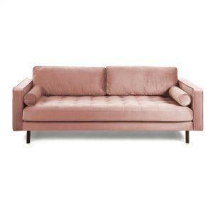 S548JU24 1 300x300 - Bogart 3 Seater Sofa -Pink Velvet