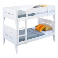 VO CAST 01 - Castle Single Bunk Bed - White