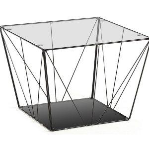 stolik kawowy paradigm 80 cm zloty 300x300 - Leroy Glass Side Table