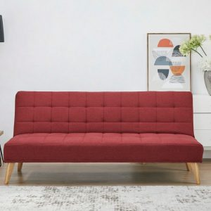 v 173n red1 300x300 - Concord Sofa Bed - Red