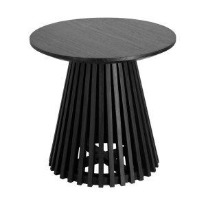 CC1942M01 0 300x300 - Irune Round Lamp Table - Black