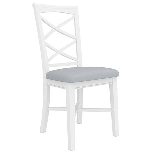 VO HAMP 02 - Hampton Timber Dining Chair - White