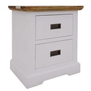 Dover bedside 1 1 300x300 - Dover 2 Drawer Bedside Table