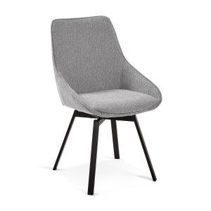 CC1154PK03 0 300x300 - Haston Swivel Dining Chair - Light Grey