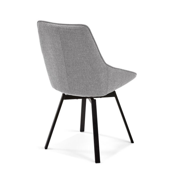 CC1154PK03 2 600x600 - Haston Swivel Dining Chair - Light Grey
