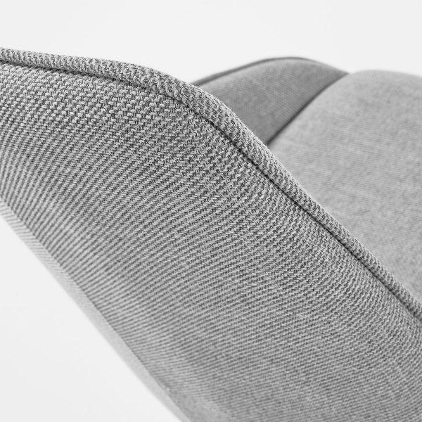 CC1154PK03 3 600x600 - Haston Swivel Dining Chair - Light Grey