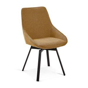 CC1154PK81 0 300x300 - Haston Swivel Dining Chair - Mustard