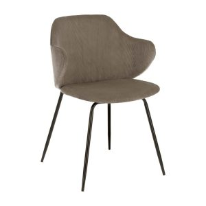 CC1987PN15 0 300x300 - Suanne Dining Chair - Dark Grey Velveteen