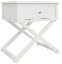 Hampton 2 - Hampton 1 Drawer Bedside Table