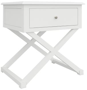 Hampton 2 - Hampton 1 Drawer Bedside Table