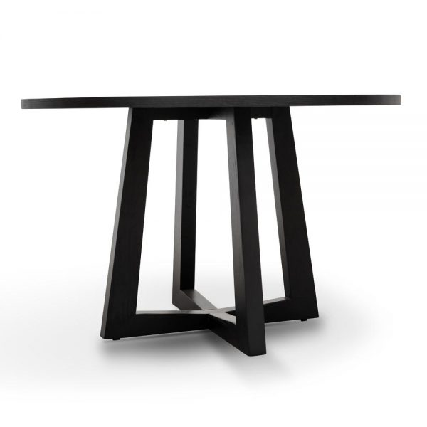 dt587 sd 5 1600x 600x600 - Richo 1200 Round Dining Table - Black