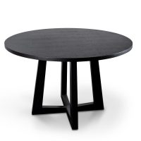 richo - Richo 1200 Round Dining Table - Black