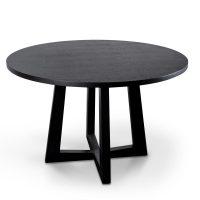 richo - Richo 1200 Round Dining Table - Black