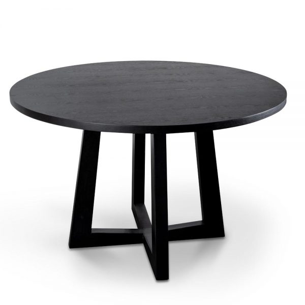 richo 600x600 - Richo 1200 Round Dining Table - Black