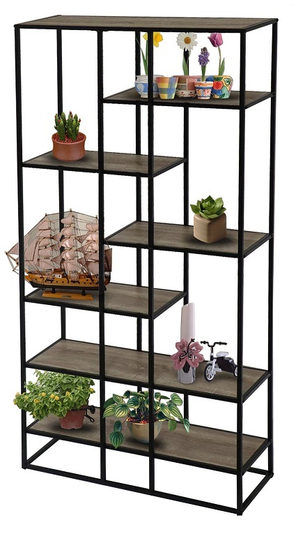 space large - Space 5 Tiered Bookcase Large