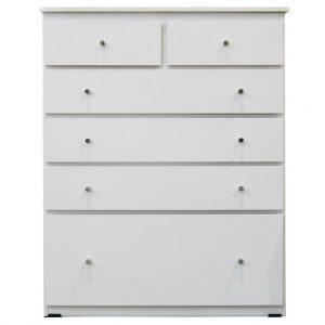 white 300x300 - Budget 6 Drawer Chest 920