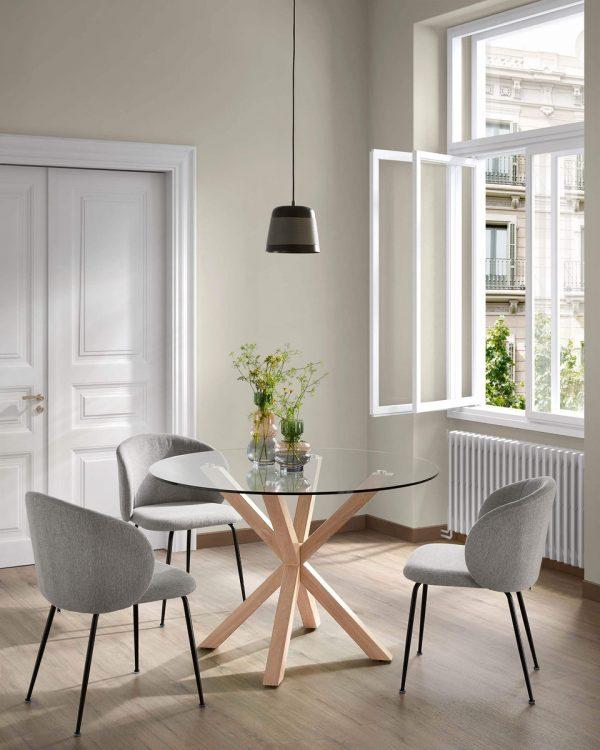 minna8 600x750 - Minna Dining Chair - Light Grey