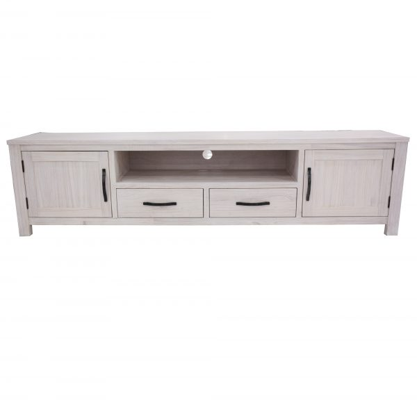 2DoorFloridaTVUnitwithNiche 600x583 - Florida Large TV unit - 2 Doors, 2 Drawers and Niche