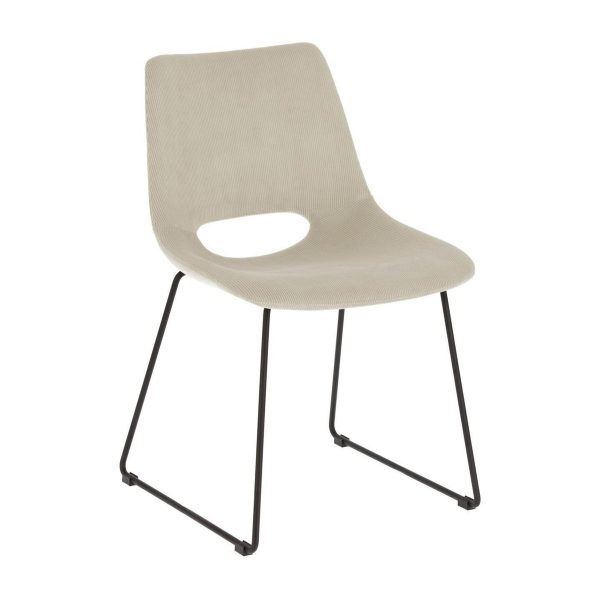 CC0826PN36 0 600x600 - Ziggy Dining Chair - Beige Corduroy Fabric