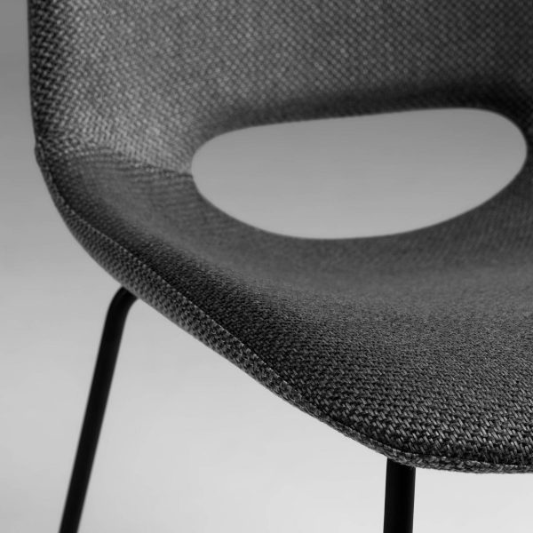 CC0826VD15 3 600x600 - Ziggy Dining Chair - Anthracite (Black) Upholstered