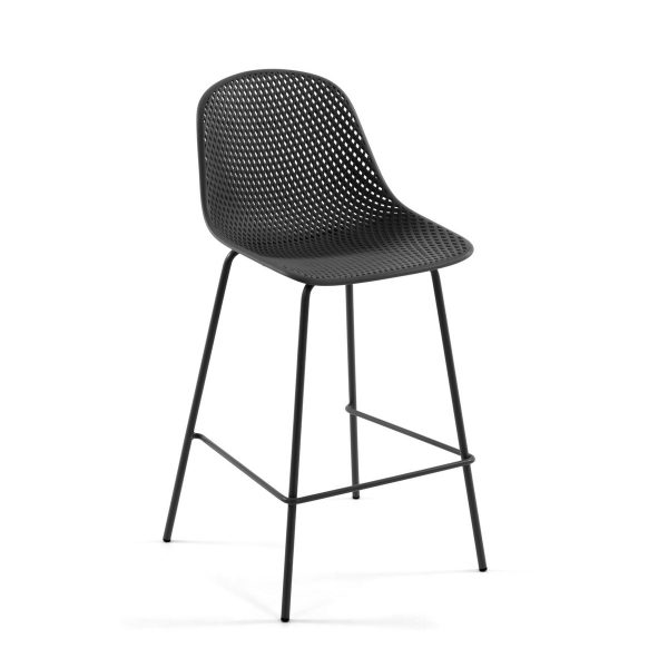 CC1990S02 0 600x600 - Quinby Barstool-Grey 75cms Seat