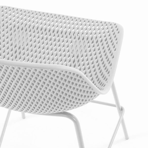CC1990S05 3 600x600 - Quinby Barstool-White 75cms Seat