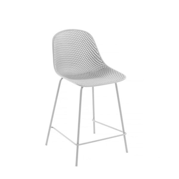 CC1990S05H 0 600x600 - Quinby Barstool-White 65cms Seat