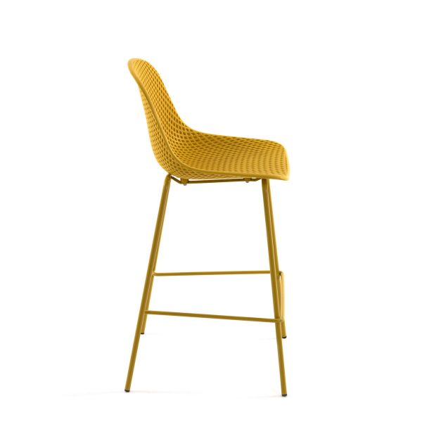 CC1990S31 1 600x600 - Quinby Barstool-Mustard 65cms Seat