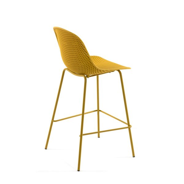 CC1990S31 2 600x600 - Quinby Barstool-Mustard 65cms Seat