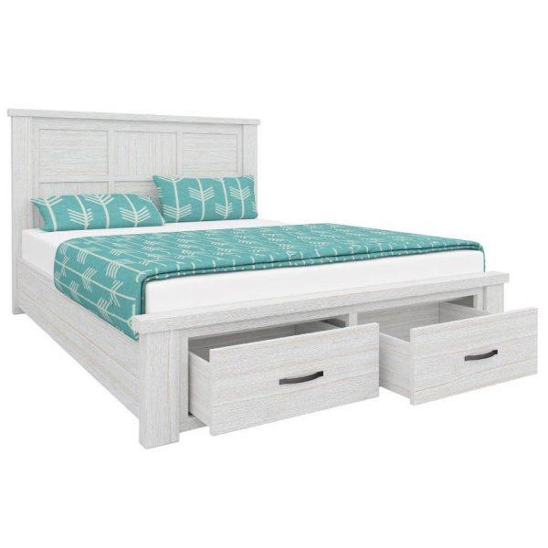 Florida Queen 600x600 - Florida Storage Bedframe - Double