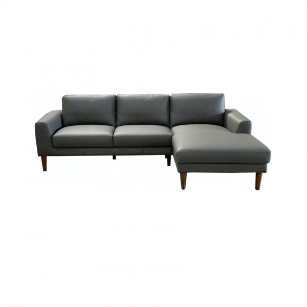 JamiesonwChaise 1024x1024 crop center 600x600 - Jamison Leather Sofa with Chaise - Charcoal