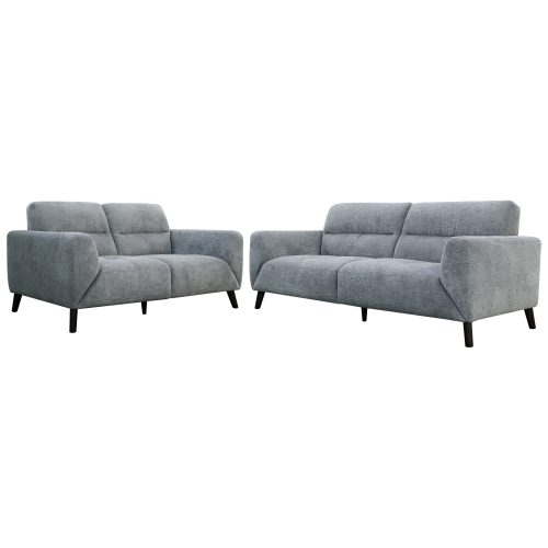 VOL HUGO KIT PEWT 1 500x500 - Hugo 3 And 2 Seater Sofa Set - Pewter