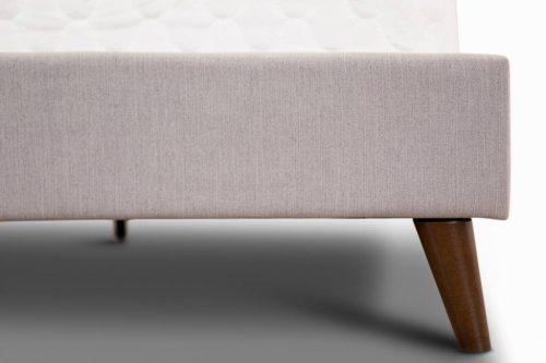 Yulara 2 500x333 - Yulara Fabric Upholstered Double Bed - Grey