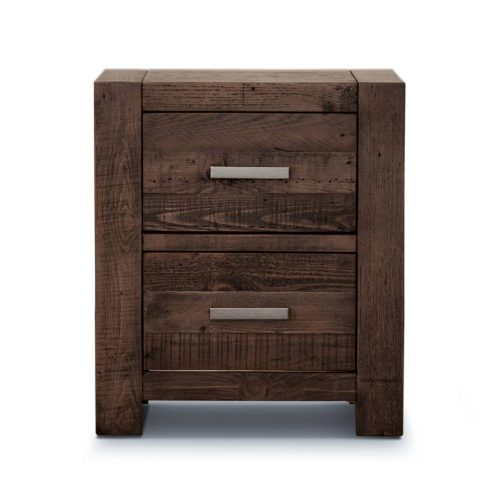 v sed 003 1 500x500 - Sedona 2 Drawer Bedside Table