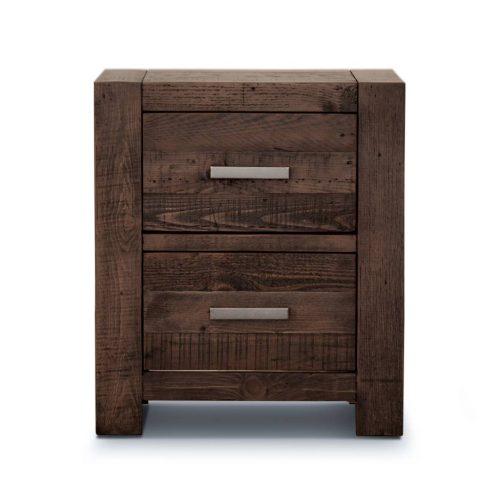 v sed 003 1 500x500 - Sedona 2 Drawer Bedside Table