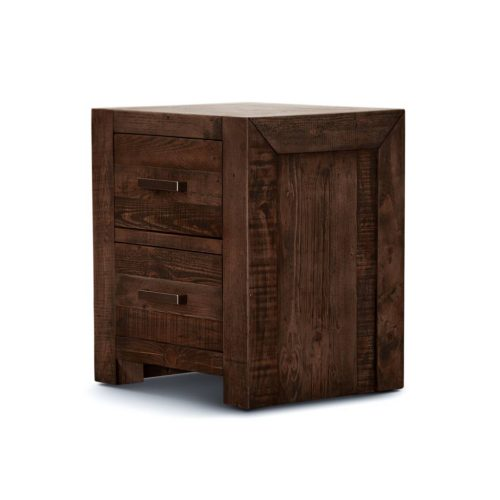 v sed 003 2 500x500 - Sedona 2 Drawer Bedside Table