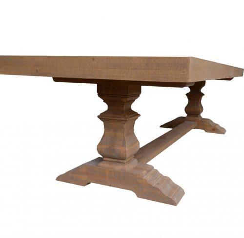 vhn prov 02 3 500x486 - Provincial Dining Table 2515mm