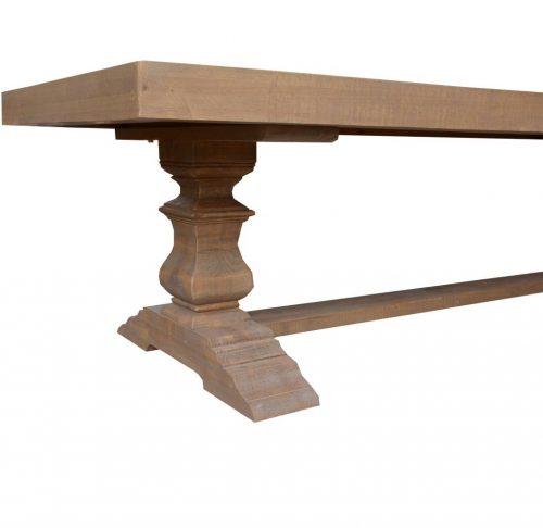 vhn prov 02 4 500x486 - Provincial Dining Table 2515mm