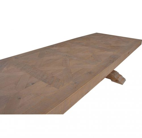 vhn prov 02 5 500x486 - Provincial Dining Table 3046mm