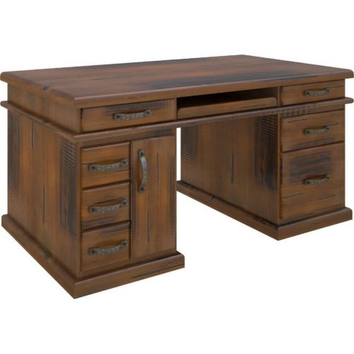 vjm 022 1 500x500 - Jamaica Desk 7 Drawers- Rough Sawn Pine