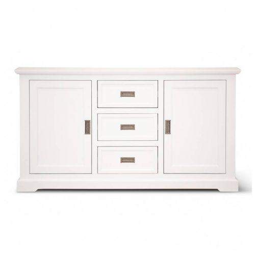 vo coas 05 1 500x500 - Coastal Buffet 3 Drawer 2 Door - Brushed White